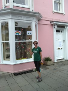 The Pink House in Broad Street